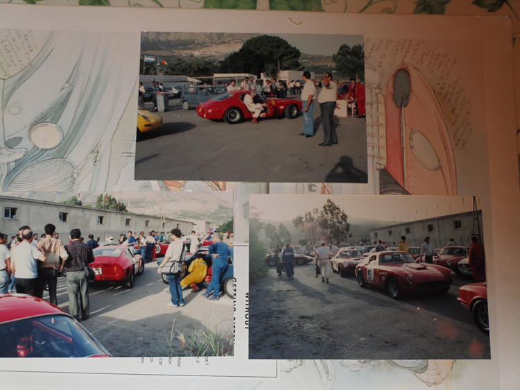 Ferrari cops at Targa Florio 1990