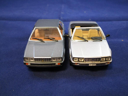 Maserati Biturbo and Spyder