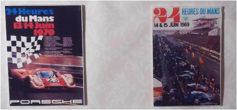 1970 and 1969 Le Mans posters